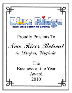 New River Retreat Business of the Year 2010